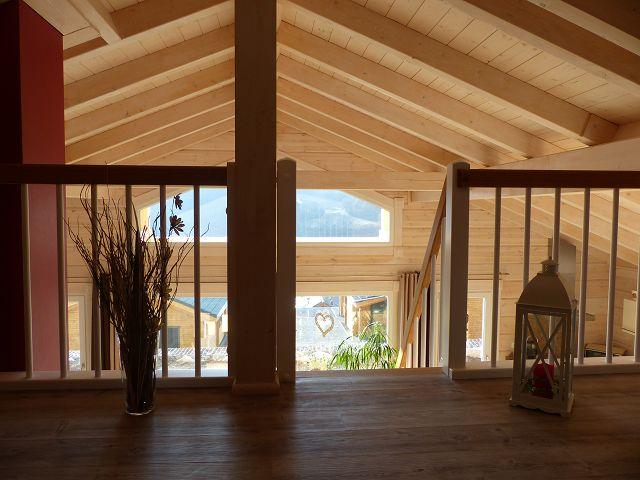 Wohn Und Essbereich Blockhaus Sonnenschein